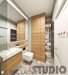 Zabudowa łazienki - zdjęcie od MIKOŁAJSKAstudio