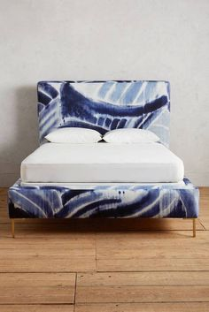 Shibori Bed Frame from Anthropologie