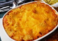 Caribbean Macaroni Cheese Pie - includes plum tomatoes, peas, corn, etc. Read Recipe by nolacaribe Macaroni And Cheese Pie Recipe, Macaroni Pie, Jamaican Dishes, Jamaican Recipes, Carribean Food, Caribbean Recipes, Pie Recipes, Cooking Recipes, Kitchens