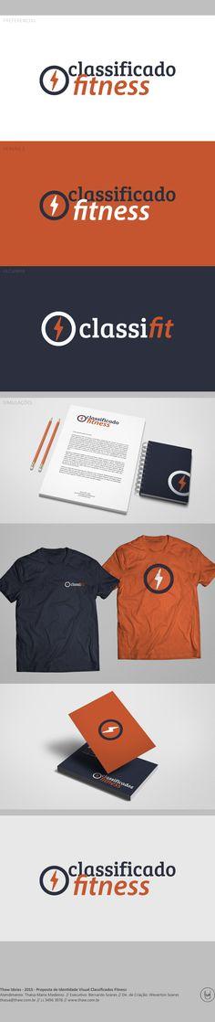Identidade visual criada especialmente para nosso cliente ClassiFit