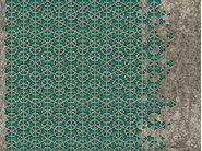 Papel de parede geométrico com motivos com efeito de parede EXA by Wall&decò