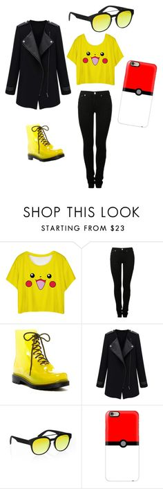"""""""Pokemon Go!"""" by erinfnthqld on Polyvore featuring MM6 Maison Margiela, Furla, Italia Independent and Casetify"""