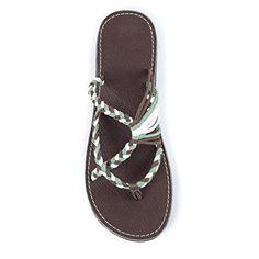 1fb4adf83b37 Spring Summer Breathable Bandage Flat Sandal Slipper. Beach Flip FlopsFlip  ...