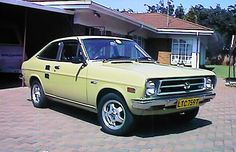Datsun 1200 GX - you really want America to get better gas mileage? reintroduce this one.. we got 40+ miles to the gallon.  Imagine we've had gas saving technology for years!
