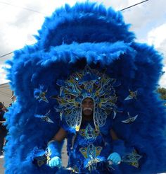 Mardi Gras Indians' Super Sunday parade