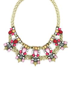 Bronze & Goldtone Abbey Necklace