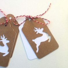 Craft christmas reindeer gift tags 44 Ideas - Gifts and Costume Ideas for 2020 , Christmas Celebration Holiday Gift Tags, Christmas Gift Wrapping, Handmade Christmas, Diy Christmas Tags, Christmas Ornaments, Vinyle Cricut, Handmade Gift Tags, Diy Gift Tags, Etsy Handmade