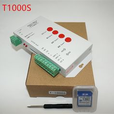 free shipping T1000S SD Card WS2801 WS2811 WS2812B LPD6803 etc LED 2048 Pixels Controller DC5~24V T-1000S DMX 512 RGB Controller Price: USD 24.88 | United States