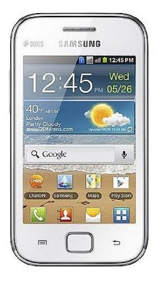 Samsung S6802 Galaxy Ace Duos Unlocked GSM Phone with Dual Sim, Android OS, Wi-Fi, 5 MP Camera, Bluetooth and GPS - No Warranty - White - Click pics for price $0. <3