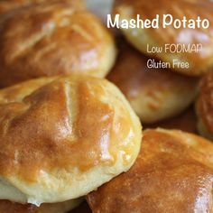 Gluten Free and Low FODMAP Mashed Potato Buns Recipe on Yummly. @yummly #recipe