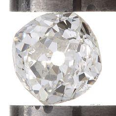 Diamond loose old mine cut .33 carat antique vintage    H - i     Si2    antique cushion brilliant cut diamond   circa 1800's by DavidJThomasJewelry on Etsy