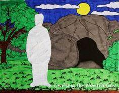 John 11:1-44; Jesus Has Power Over Death; Jesus Raises Lazarus From The Dead Craft