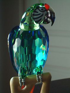 Swarovski Crystal Paradise Macaw Bird Object RETIRED MINT Parrot Figurine 685824 in Collectibles, Decorative Collectibles, Decorative Collectible Brands | eBay