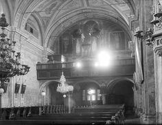 Titel Pettau, Jugoslawien Beschreibung Minoritenkirche: Blick etwas von rechts gegen die Orgelempore. Datierung 1913
