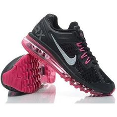 http://www.asneakers4u.com/ Cheap nike air max 2013 for womens shoes black size36 39 Sale Price: $67.20