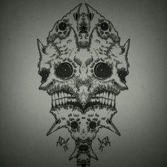 #morph #twisted #darkart  by Kornotero