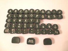 Vintage Green Plastic Typewriter Key Set  47 Piece Set    Jewelry  Craft Typewriter Keys, Alter Ego, Have Some Fun, Vintage Green, Vintage Home Decor, Jewelry Crafts, Gadgets, Plastic, Antiques