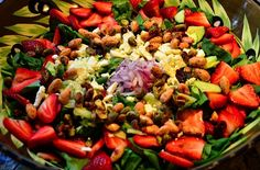 For this Strawberry Spinach Salad, we did a taste test on which dressing was the best and Trader Joe's Cranberry, Walnut and Gorgonzola…