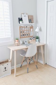 Glorious small home office organization ideas #homeoffice #homeofficeideas #homeofficefurniture #homeofficedecor #homeofficedesign #feminine