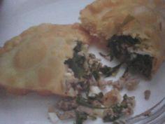 Empanadas de acelgas libanesas