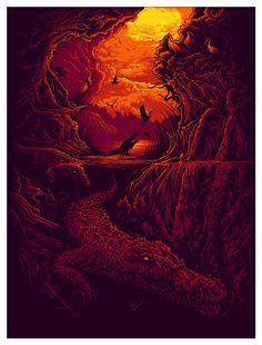 """Rhizophora"" Art Print by Dan Mumford  (Onsale Info)"