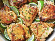 honey lime chicken thighs recipe