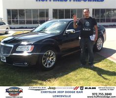https://flic.kr/p/xbFyE1 | #HappyAnniversary to Federico and your 2012 #Chrysler #300 from Mark Gill at Huffines Chrysler Jeep Dodge Ram Lewisville! | www.deliverymaxx.com/?utm_source=FlickR&utm_medium=Be...
