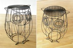This would be an awesome plant stand in the living room.