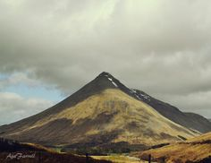 Mountain Photography Ben Dorain Scotland Landscape by AgaFarrell, $30.00