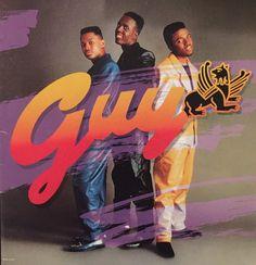 Best of the new jack swing era: Guy. MCA records 1988 hip-hop vinyl rap records. Teddy Riley. #hiphop #newjackswing #music