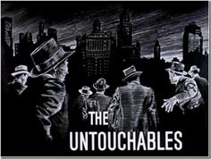The Untouchables is an American crime drama produced by Desilu Productions that ran from 1959 to 1963 on the ABC Television Network. Based on the memoir of t. Eliot Ness, The Villages Florida, Nelson Riddle, Robert Stack, School Tv, 60s Tv, Raymond Chandler, Tv Themes, Do You Remember