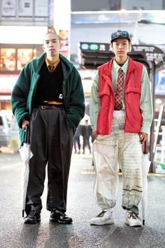 Japan Street Fashion, Tokyo Fashion, Harajuku Fashion, Mens Fashion, Asian Street Style, Tokyo Street Style, Grunge Style, Soft Grunge, Men Street