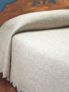 Vermont Country Store. Cotton Heirloom Bedspread | Similar to Bates Bedspreads. $299.00
