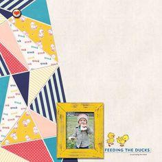 Feeding the Ducks | #joycreated using digital scrapbooking products by ForeverJoy Designs