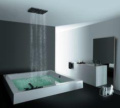 quiero un baño asi!