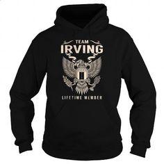 IRVING Last Name, Surname Tshirt - #t shirt creator #silk shirts. MORE INFO => https://www.sunfrog.com/Names/IRVING-Last-Name-Surname-Tshirt-154988238-Black-Hoodie.html?id=60505