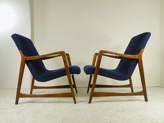 Fotel z lat 60. (typ 364) projektu poznańskiej projektantki Barbary…
