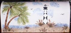 Hand Painted Mailbox With Weather and Fade Resistant Finish on Etsy, $65.00