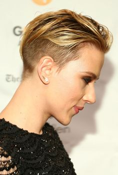 Most memorable hair moments of 2014 - Scarlett Johansson