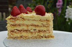 Bake Off Recipes, Cake Recipes, Dessert Recipes, Dacquoise Recipe, British Baking Show Recipes, Hazelnut Meringue, Crazy Cakes, Orange Recipes, Savoury Cake
