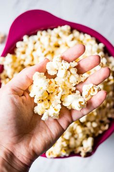 Stovetop Kettle Corn - my all time favorite crispy snack guaranteed to satisfy your sweet tooth.