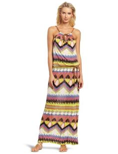 D.E.P.T. Women's Eclectic Jersey Maxi Dress « Clothing Impulse