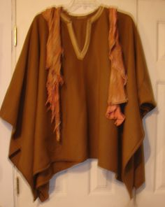 Ready 2 Ship unisex poncho Black White Tan Mens Poncho Fleece Poncho boho poncho hippie poncho plus size mexican poncho festival poncho boho by WindyMountainDesigns on Etsy