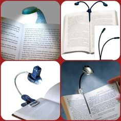 Every booklover ends each night with a good book and in doing so delves into factual information or fictional tales for about 30-60 minutes if not more. After working online for a whole day, it's refreshing to cozy up with a favorite book before hitting the bed. So, having the perfect book-light can make a huge difference too.