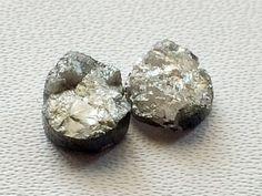 Grey Raw Diamond Grey Raw Pear Diamonds Grey by gemsforjewels