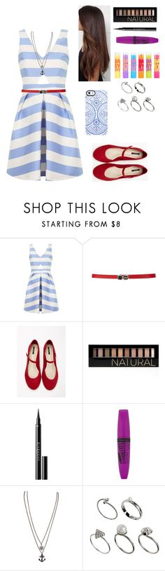 """""""Untitled #164"""" by thepearllesswonder ❤ liked on Polyvore featuring Topshop, Carven, Forever 21, Givenchy, Maybelline, Rimmel, ASOS and Uncommon"""