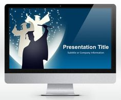 10 best academic powerpoint templates images on pinterest free widescreen education powerpoint template is another graduation ppt template and slide design that you can toneelgroepblik Images