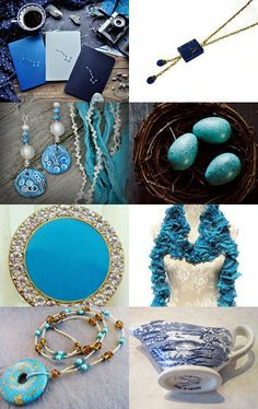 Blues by Cara Harkness on Etsy--Pinned with TreasuryPin.com