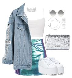 """Untitled #41"" by sofiatorres10895 on Polyvore featuring Boohoo, Y.R.U., Love Moschino, Co.Ro, Forever 21 and Marc Jacobs"