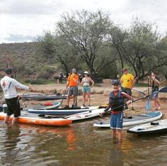 There are still spots available for tomorrow's SUPOSIUM at Saguaro Lake. Learn to paddleboard or enhance your skills. Get in a killer workout or take your yoga practice to the water! Fun for everyone at every level! 8AM SUP 101 9AM SUP Skills  10 AM SUP Fitness  11AM SUP Yoga Sign up for 1 session or all 4! Reservations in advance are required - no walk-ups. More details call the shop today 480-463-6686 or check this link: http://ift.tt/2eqYMu1 . . . @robgibbs @pamelapaley @supaz365…